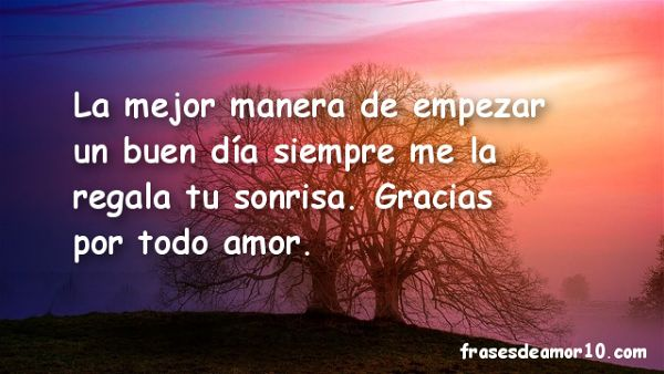 Las Mejores Frases De Buenos Dias Para Tu Amor