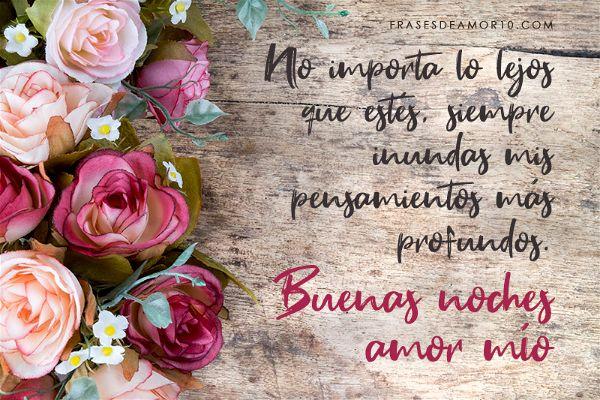 Las Mejores Frases De Buenas Nochespara Tu Amor