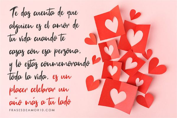 Frases De Aniversario De Casados: Las MEJORES Frases De Feliz Aniversario【PARA DEDICAR】