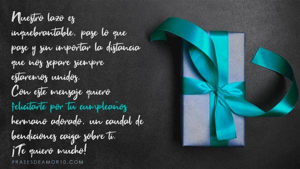 Frases De Cumpleaños Para Un Hermanocon Imágenes